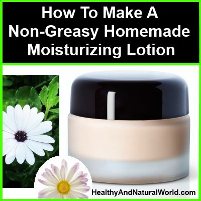 homemade moisturizing lotion