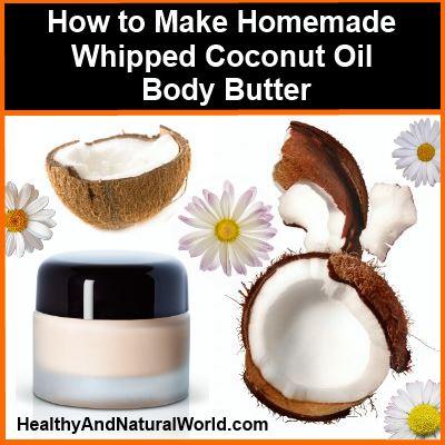 coconut oil body butter