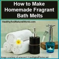 How to make homemade fragrant bath melts