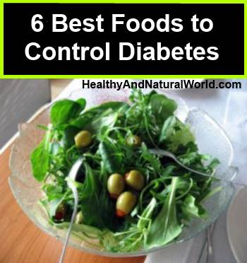 The 14 best foods to control type 2 diabetes