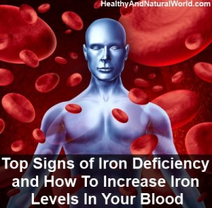 Top Signs of Iron Deficiency and How To Increase Iron Levels In Your Blood