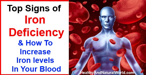 Vitamin B12 Deficiency Signs of Iron Deficien...