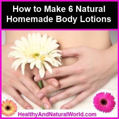natural body lotions