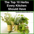 The Top 10 Herbs Every Kitchen Should Have