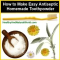antiseptic tooth powder