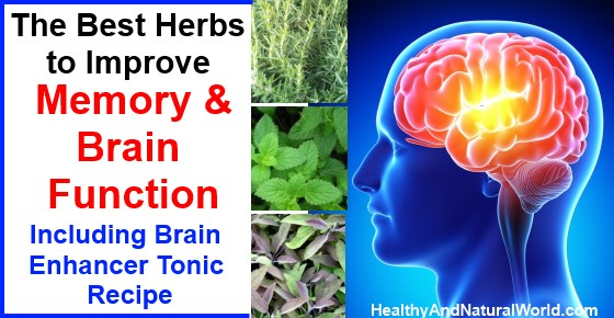 Herbs for brain function