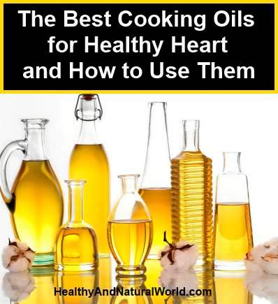 best oils for healthy heart