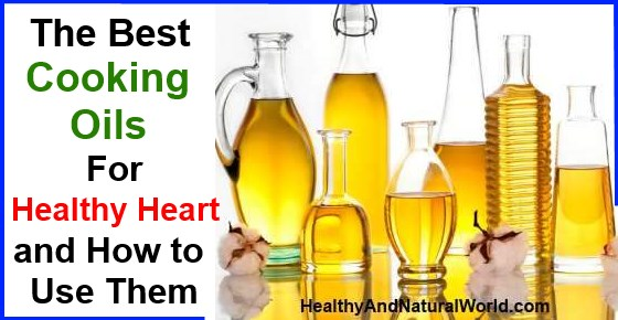 Best Natural Cooking Oil