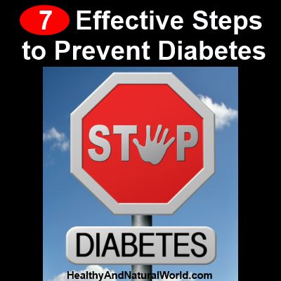 7 Effective Steps to Prevent Diabetes