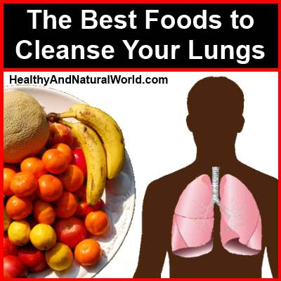 Foods Good For Cleansing Lungs