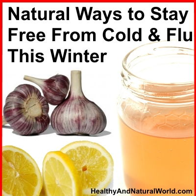 Natural Ways to Stay Free From Cold & Flu This Winter