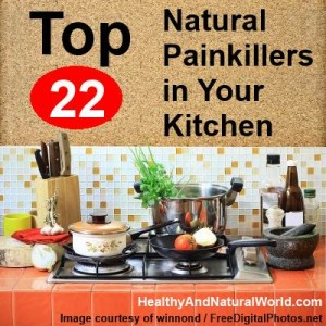 Top 22 Natural Painkillers in Your Kitchen