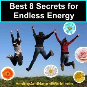 Increase your energy naturally