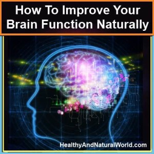 Improve your brain function