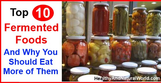 List Of Fermented Foods For Healthy Gut