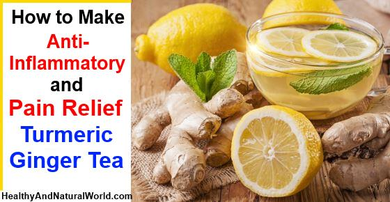 How to Make Anti-Inflammatory Turmeric Ginger Tea