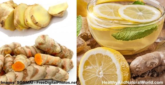 how to make tea with fresh ginger and lemon