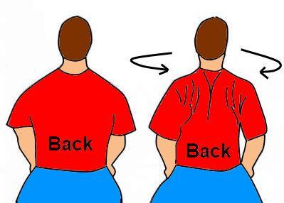 shoulder blade stretch