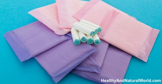 What's Really in Your Sanitary Pads and Tampons? Inc. Video