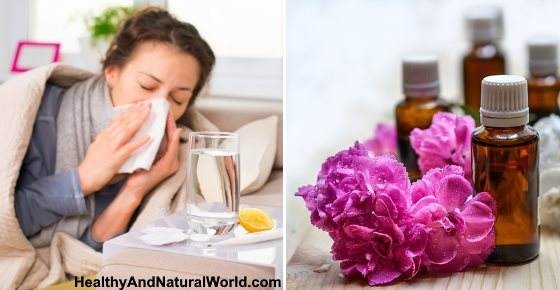 The Top 15 Essential Oils for Colds, Flu, Cough, Sore Throat & Congestion