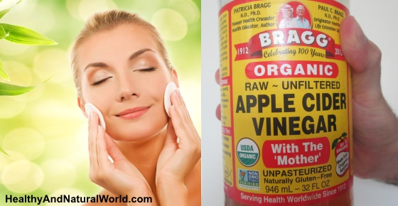 Why You Should Wash Your Face With Apple Cider Vinegar