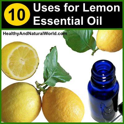 10 lemon essential oil uses