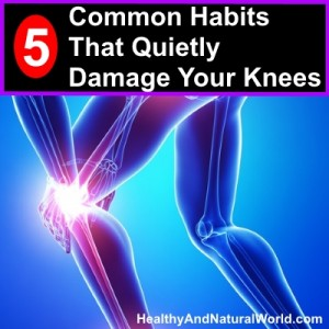 5 Common Habits That Quietly Damage Your Knees