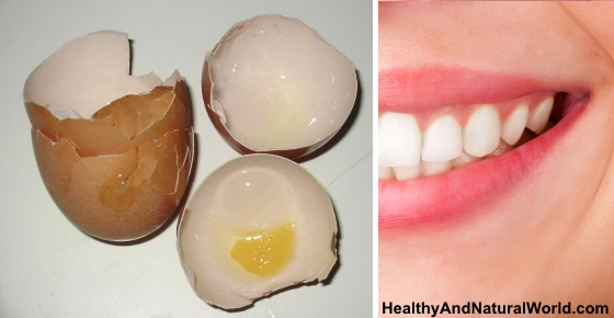 how to fix teeth with eggshells
