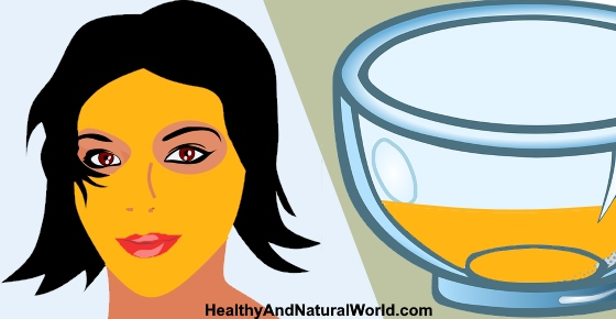Turmeric Face Mask Recipe For Glowing Skin Acne Rosacea Eczema And Dark Circles