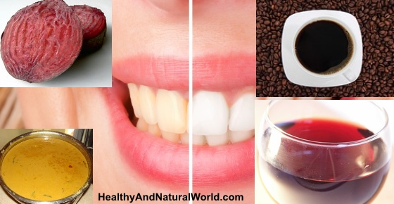 12 Foods and Drinks That Cause Yellow Teeth and What to Do About It