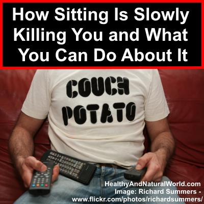 How Sitting Is Slowly Killing You and What You Can Do About It