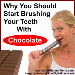Why You Should Start Brushing Your Teeth With Chocolate