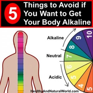 5 Things to Avoid If You Want to Get Your Body Alkaline