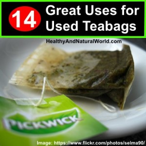 14 Great Uses for Used Teabags