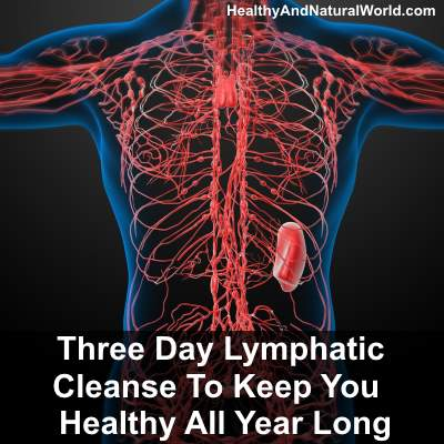 Three Day Lymphatic Cleanse To Keep You Healthy All Year Long