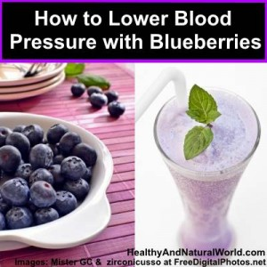 How to Lower Blood Pressure with Blueberries