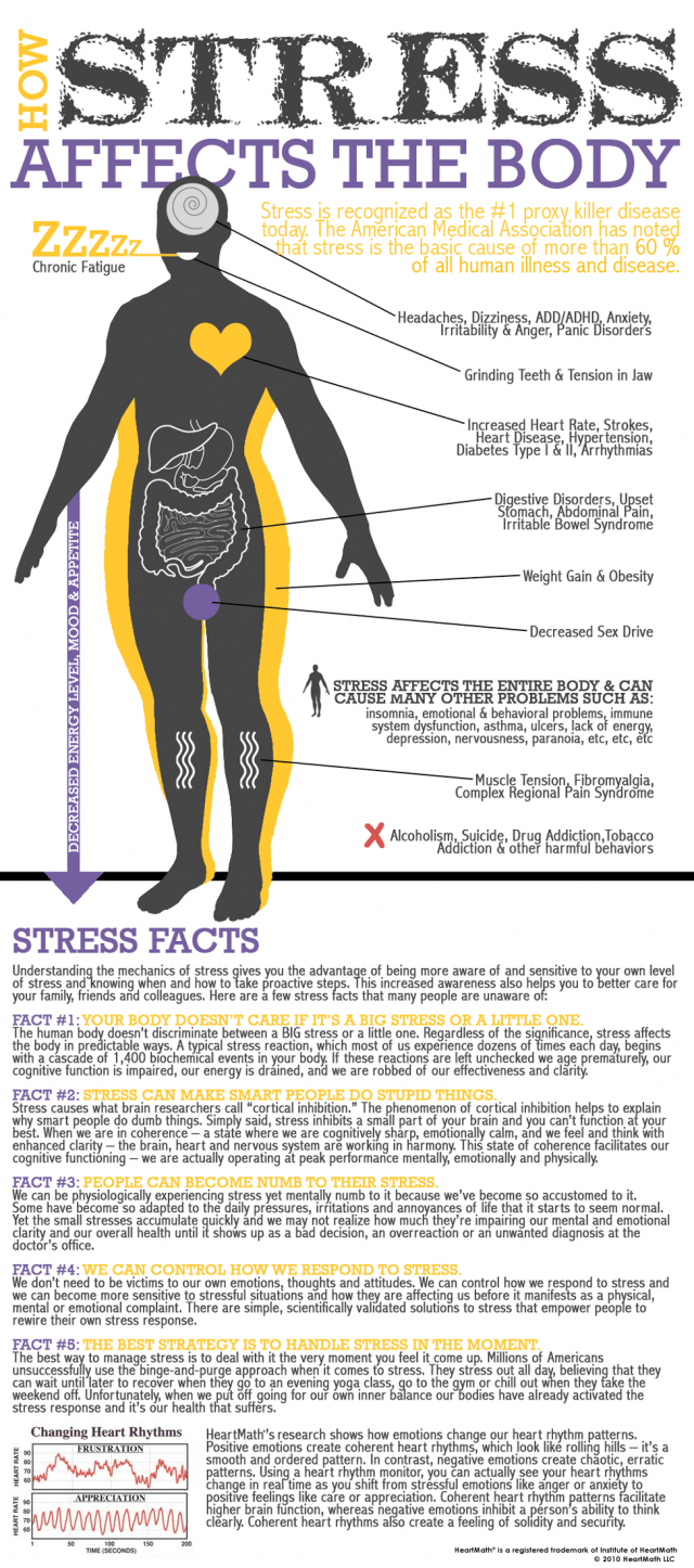 how stress affects your body how stress affects your body