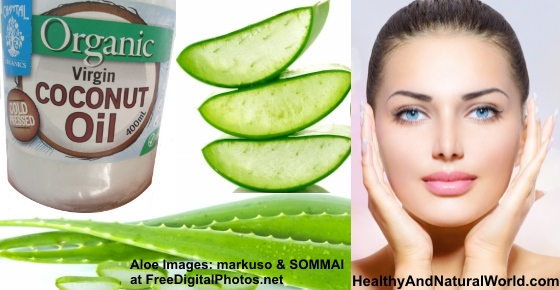 The Health Benefits of Aloe Vera & Coconut Oil Mixture