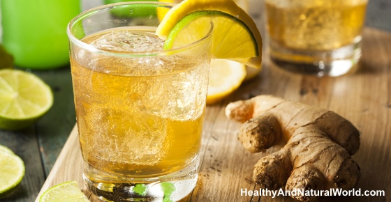 How to Make Ginger Ale to Reduce Pain and Inflammation