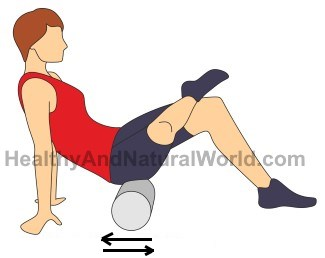 Foam roller exercises for sciatic and back pain images included glutes sciox Images