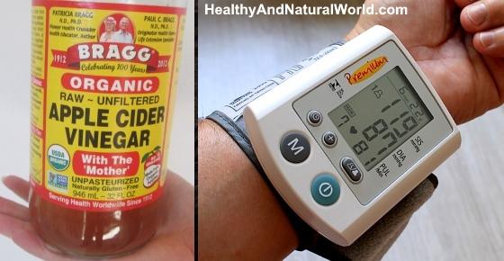 Apple Cider Vinegar for Reducing High Blood Pressure