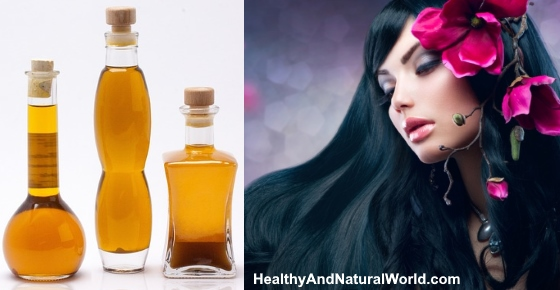 The Best Natural Oils for Your Hair