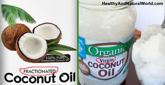 Fractionated Coconut Oil (FCO) Vs. Virgin Coconut Oil