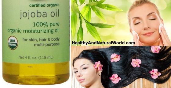 Jojoba oil benefits for skin / hair