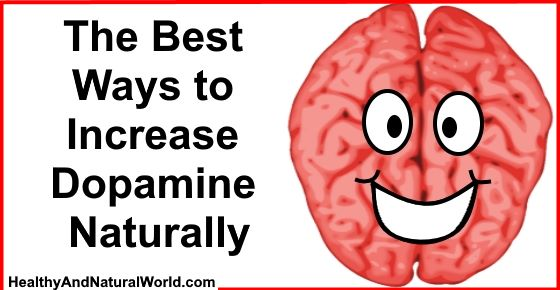 Natural Ways To Raise Dopamine