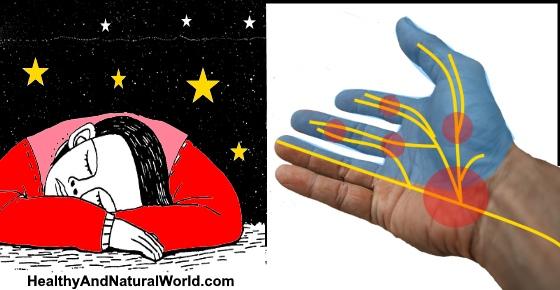 Hands / Arms Falling Asleep at Night