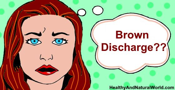 Brown Discharge or brown period