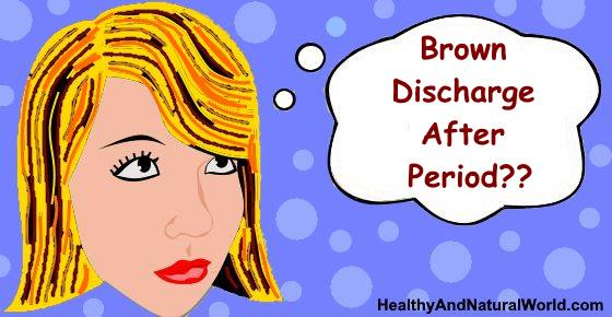 Brown Discharge After Period: What Does It Mean?