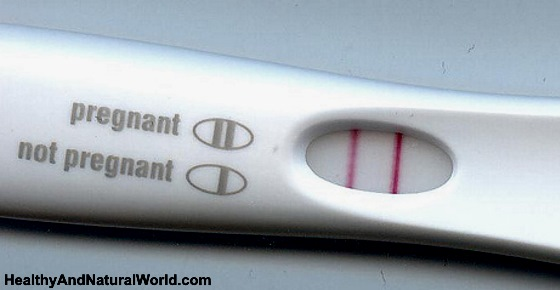 Positive pregnancy blood test report