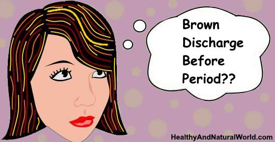 Brown Discharge Before Period: What Does It Mean?